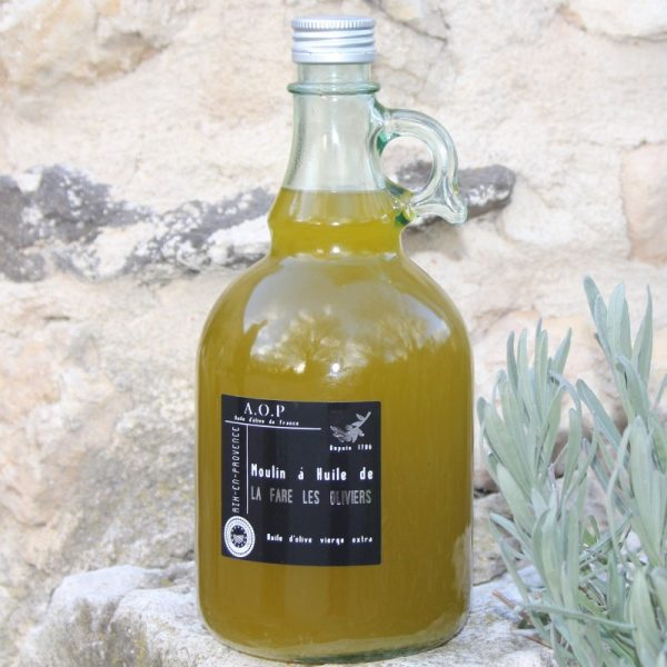 Bonbonette d'huile d'olive vierge AOP de 1L