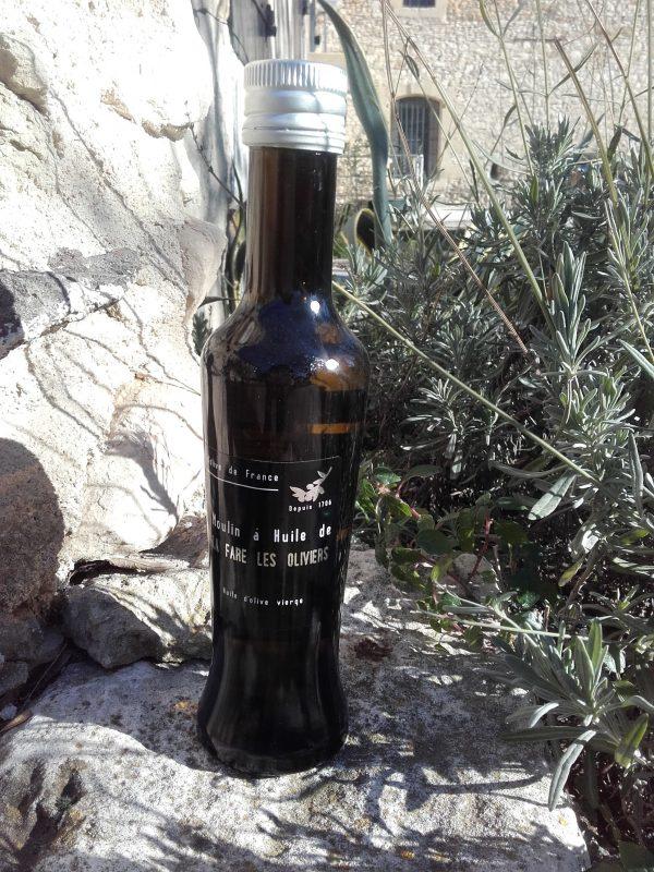 Bouteille d'huile d'olive vierge tradition de 25 cl